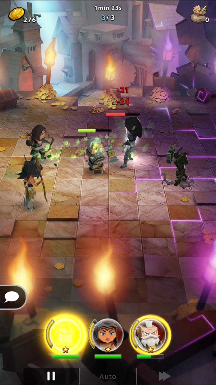 androidアプリ Portal Quest(ポータルクエスト)攻略スクリーンショット5