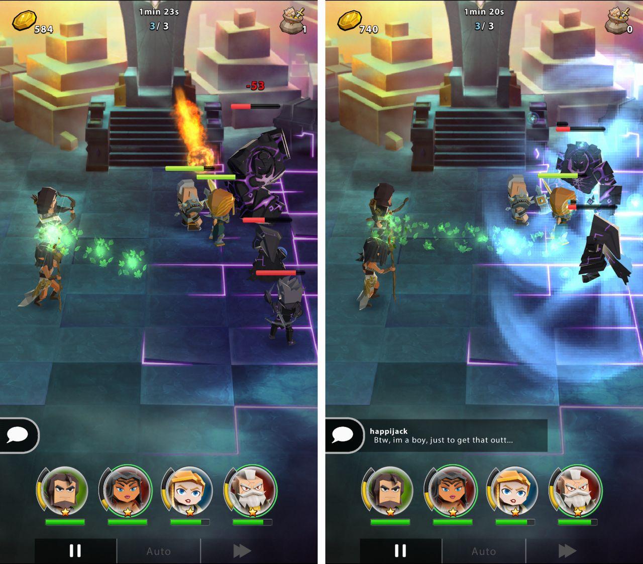 Portal Quest(ポータルクエスト) androidアプリスクリーンショット1