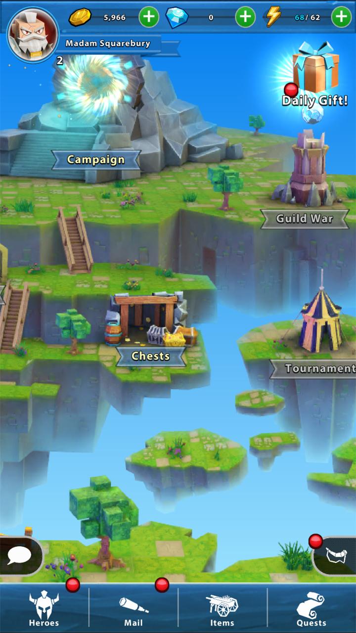 Portal Quest(ポータルクエスト) androidアプリスクリーンショット2