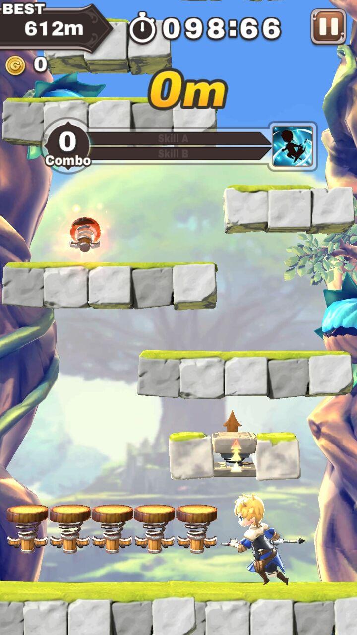 androidアプリ フィンガージャンプ攻略スクリーンショット1