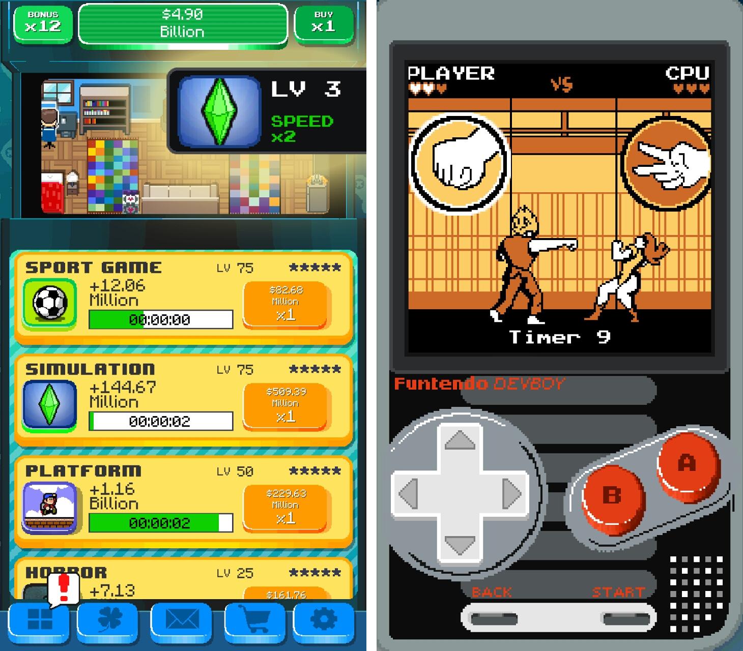 ゲームデブ エンパイア(GameDev Empire) androidアプリスクリーンショット1