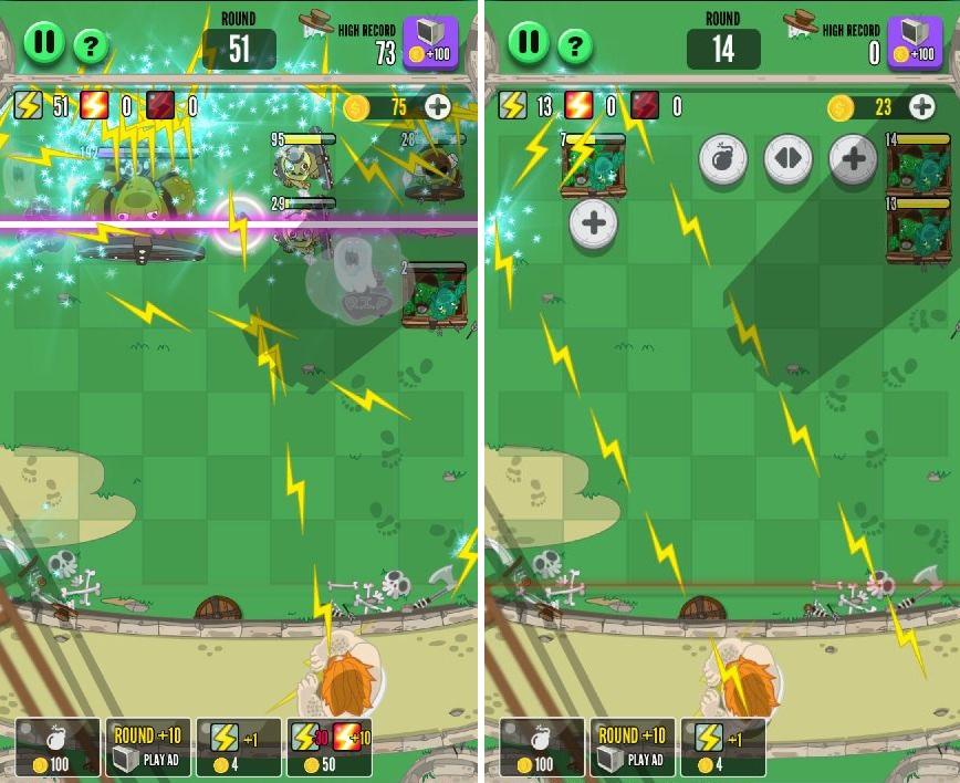 God of Block : Brick Breaker(ゴッド・オブ・ブロック) androidアプリスクリーンショット1