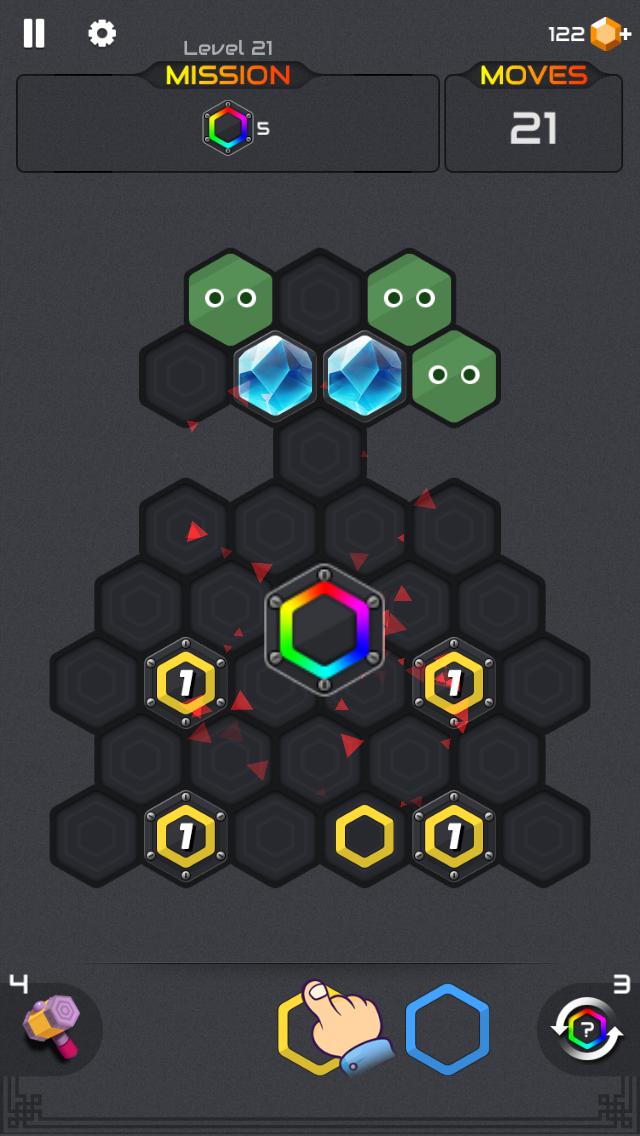 androidアプリ ヘキサブラスト (Hexa Blast)攻略スクリーンショット6