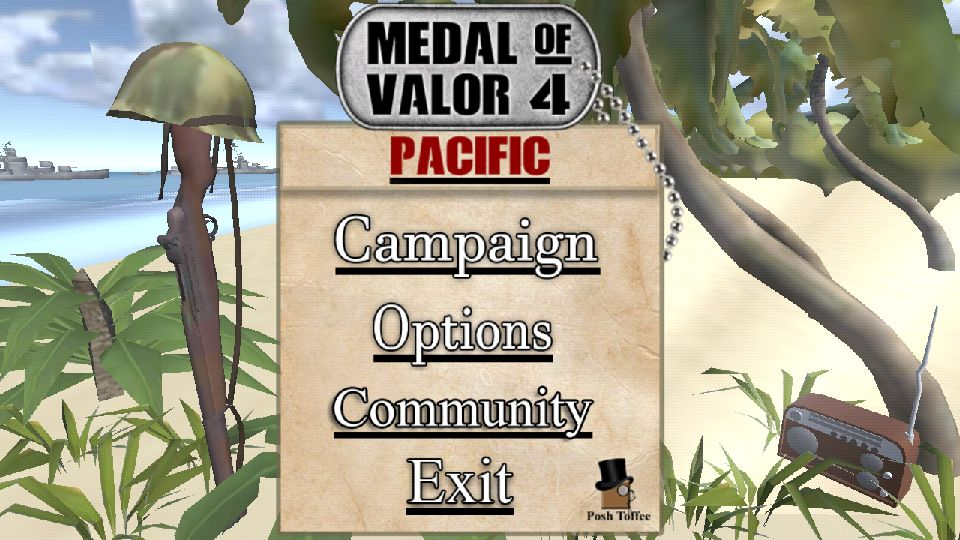 androidアプリ Medal Of Valor 4 WW2 FREE攻略スクリーンショット1