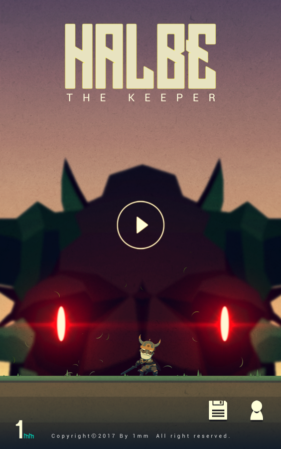androidアプリ HALBE THE KEEPER(ハルベ・ザ・キーパー)攻略スクリーンショット1