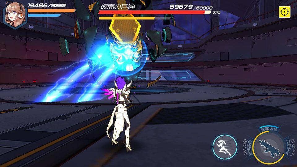 androidアプリ 学園戦姫プラネットウォーズ攻略スクリーンショット3