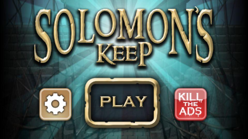 androidアプリ Solomon's Keep(ソロモンズキープ)攻略スクリーンショット1