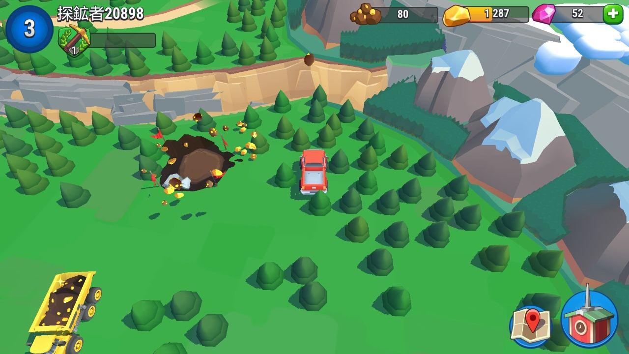 androidアプリ プラネットゴールドラッシュ(Planet Gold Rush)攻略スクリーンショット3