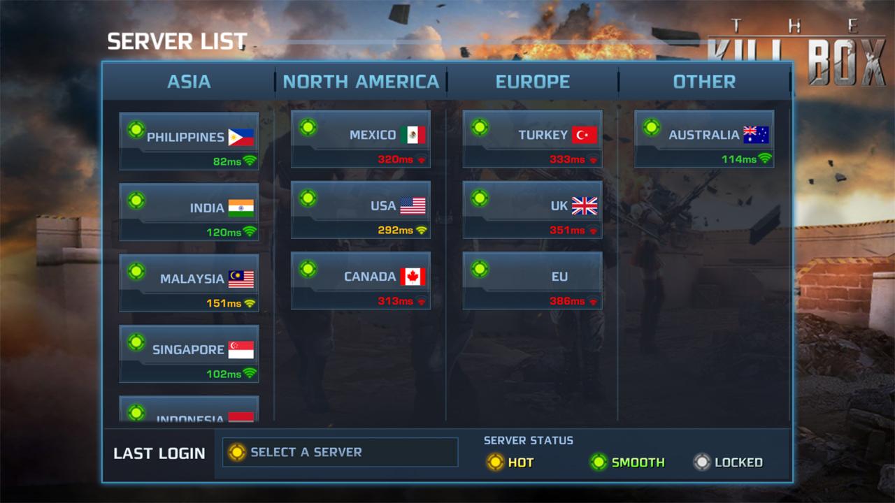 androidアプリ The Killbox: Arena Combat(ザ キルボックス:アリーナコンバット)攻略スクリーンショット1
