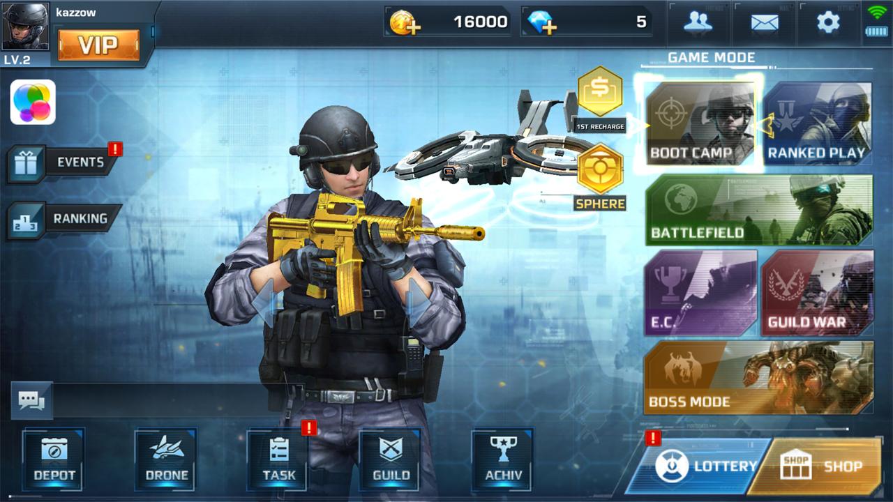 androidアプリ The Killbox: Arena Combat(ザ キルボックス:アリーナコンバット)攻略スクリーンショット2