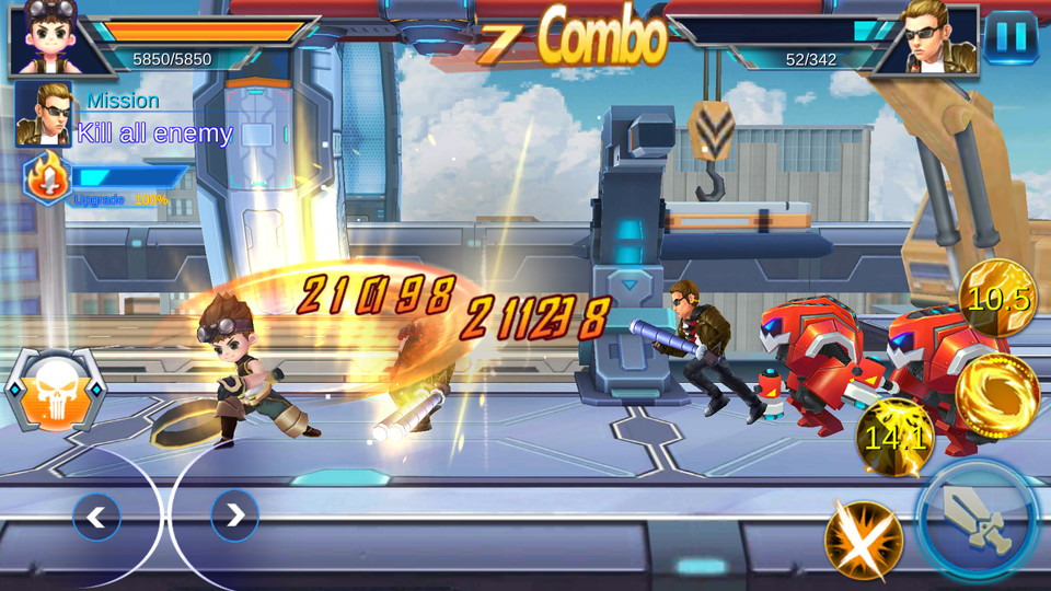 androidアプリ League of Warrior:Fighting(リーグオブ ウォリアー)攻略スクリーンショット1