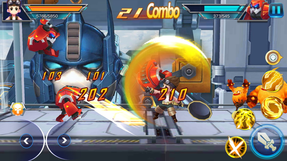 androidアプリ League of Warrior:Fighting(リーグオブ ウォリアー)攻略スクリーンショット2