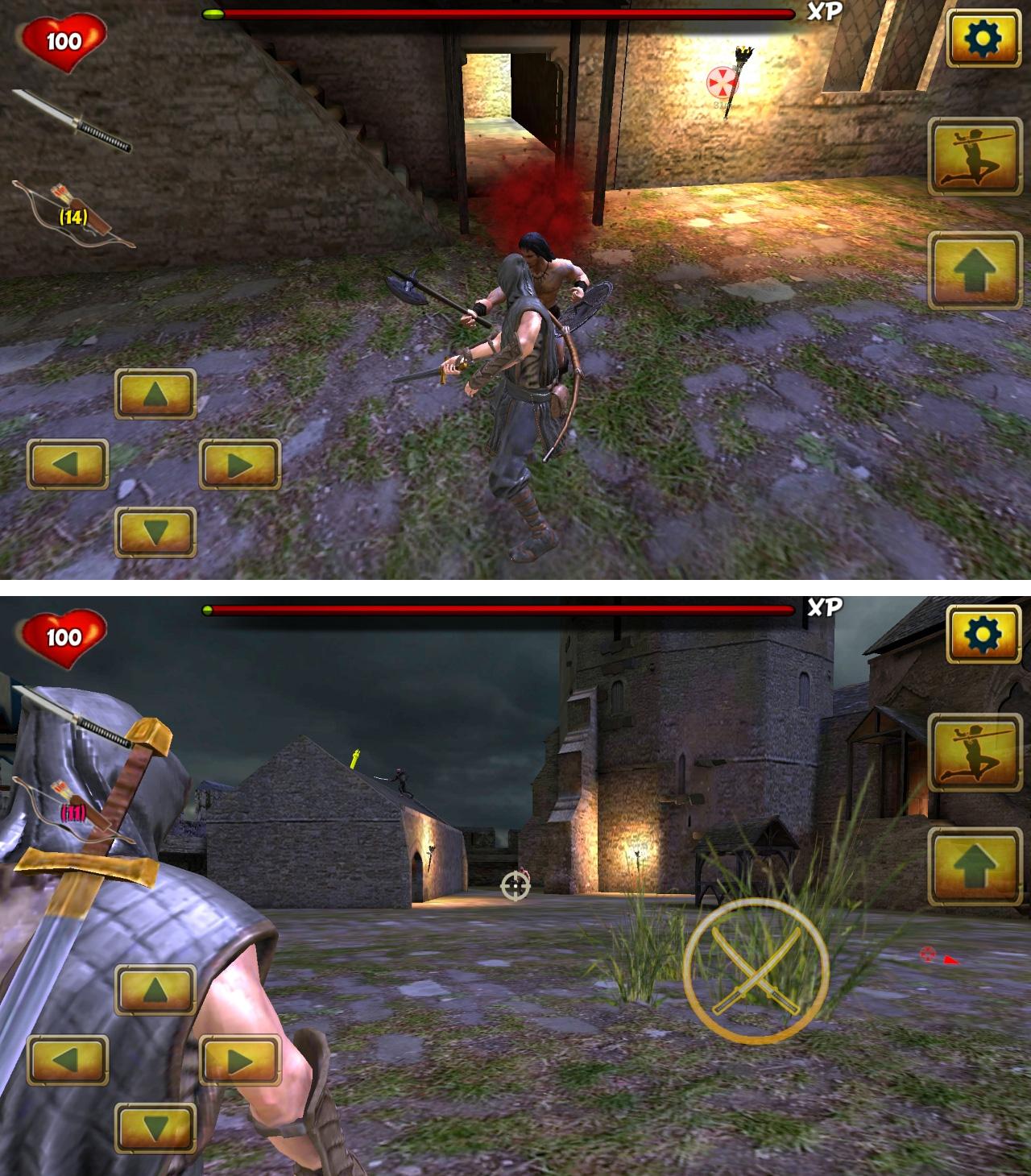 ニンジャ サムライ アサシンヒーロー2(Ninja Samurai Assassin Hero II) androidアプリスクリーンショット1
