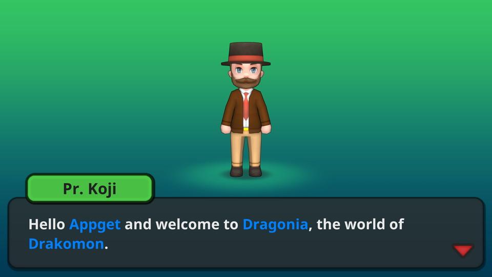 androidアプリ Drakomon(ドラコモン)攻略スクリーンショット1