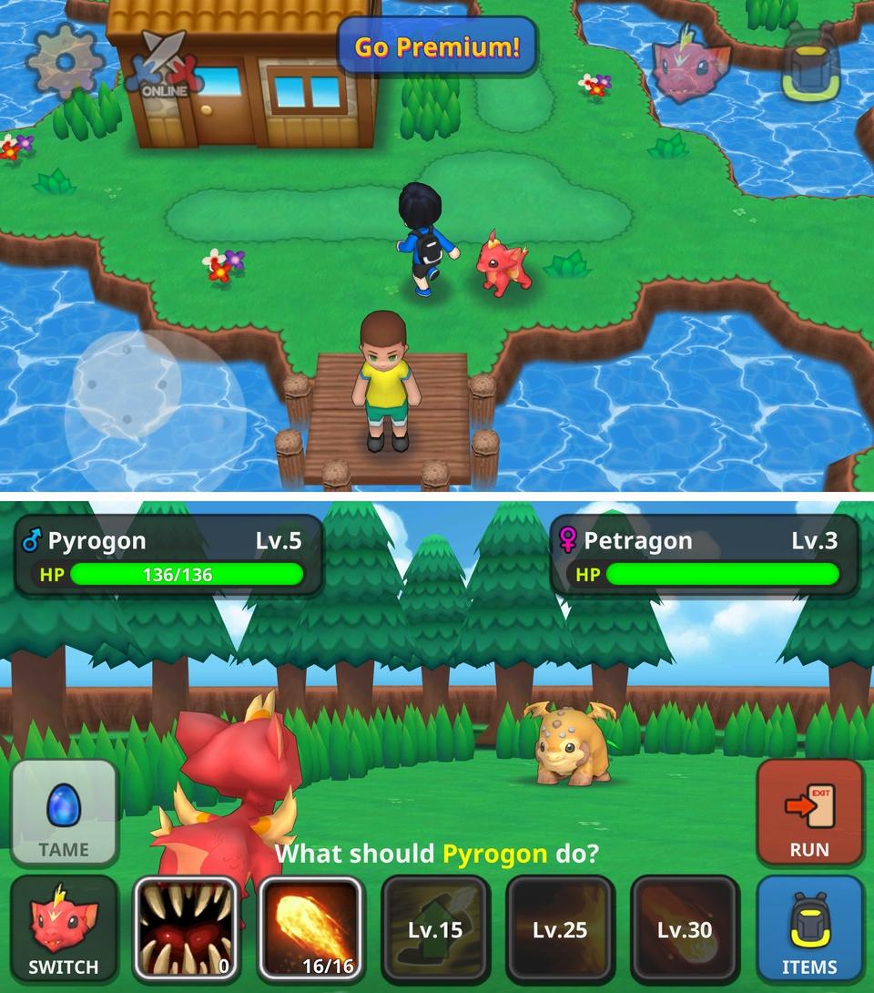 Drakomon(ドラコモン) androidアプリスクリーンショット1