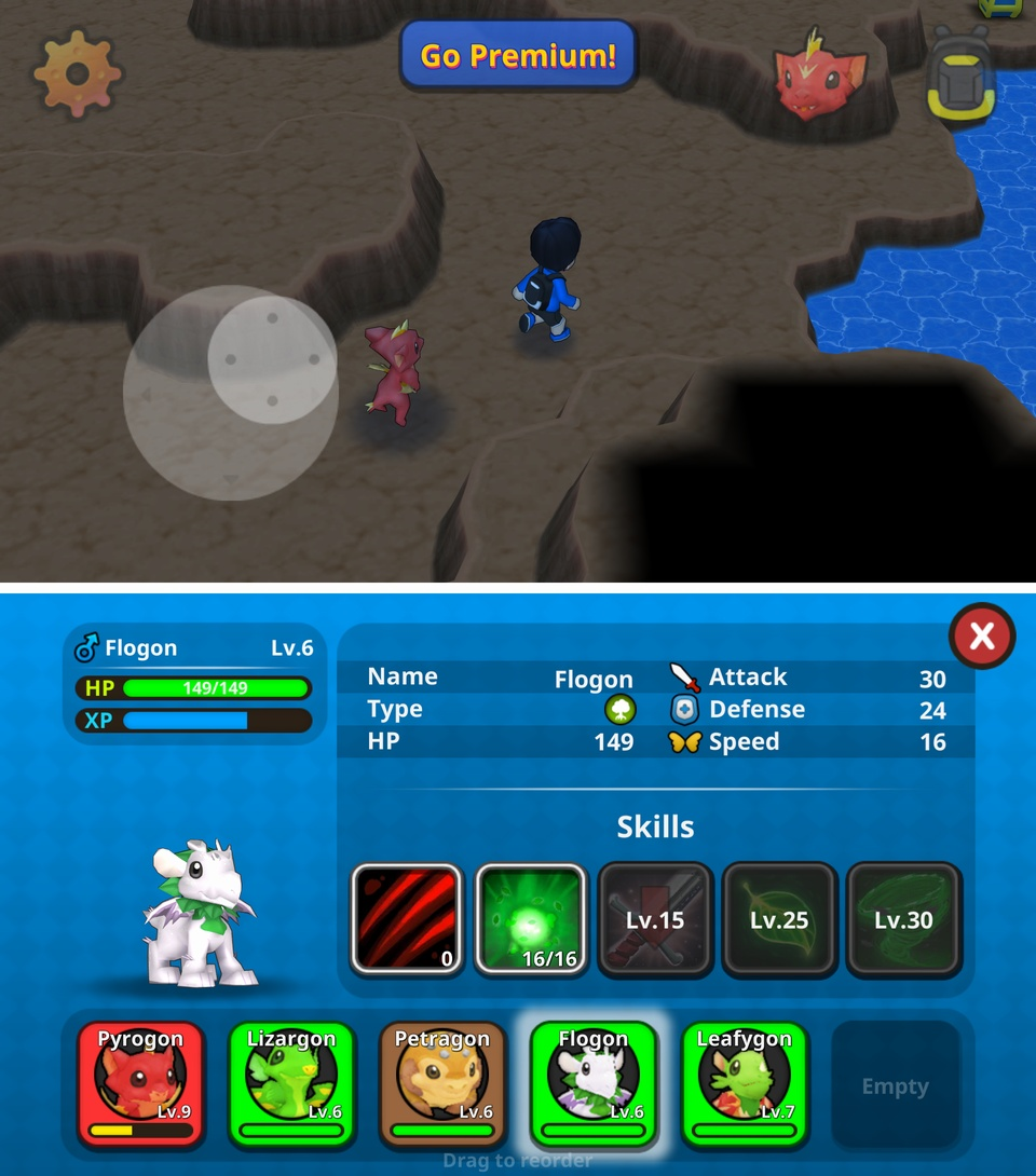 Drakomon(ドラコモン) androidアプリスクリーンショット3