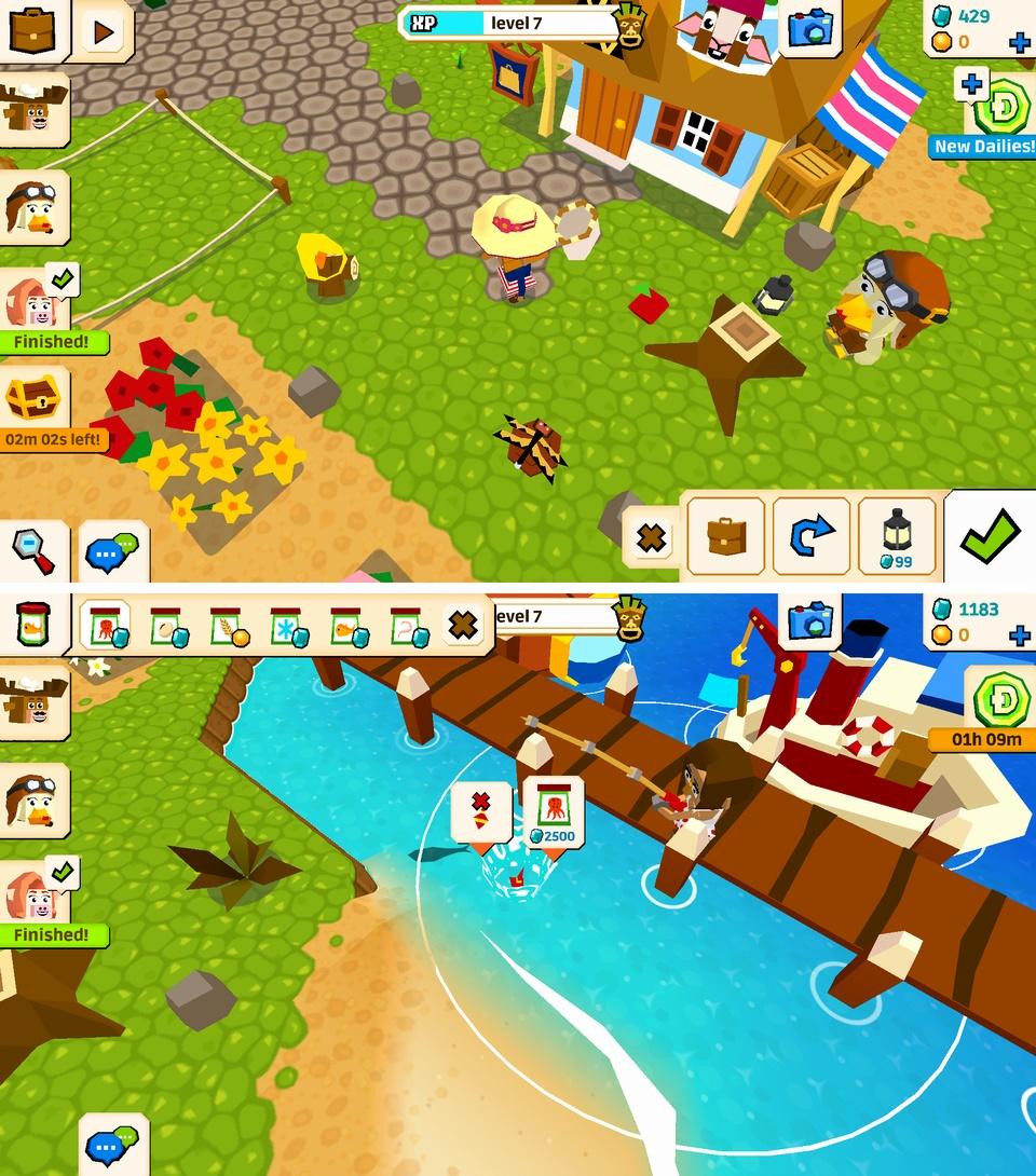 Castaway Paradise(キャスタウェイ・パラダイス) androidアプリスクリーンショット1