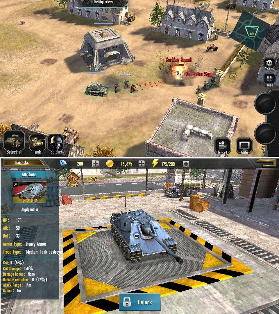 Mobile Command: WW2(モバイル・コマンド) androidアプリスクリーンショット1