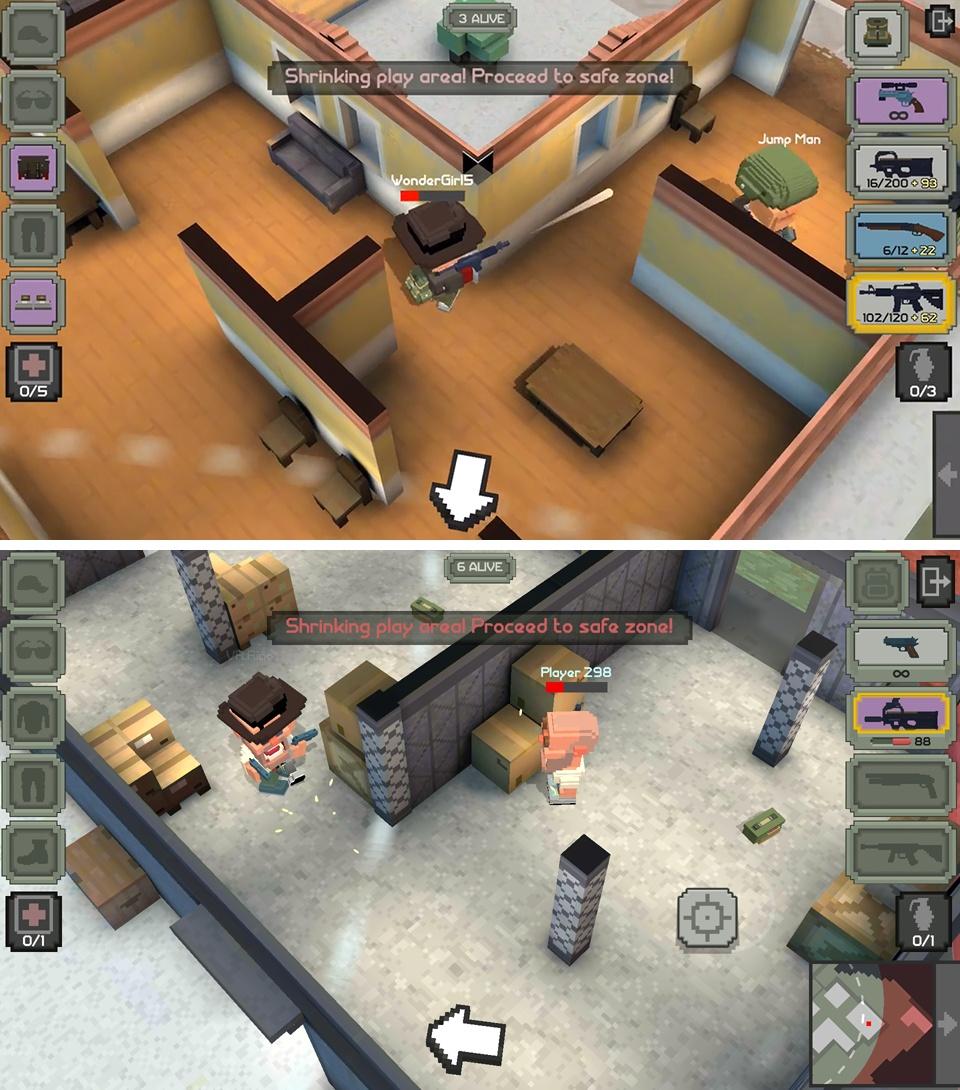 Guns Royale(ガンズロワイヤル) androidアプリスクリーンショット1
