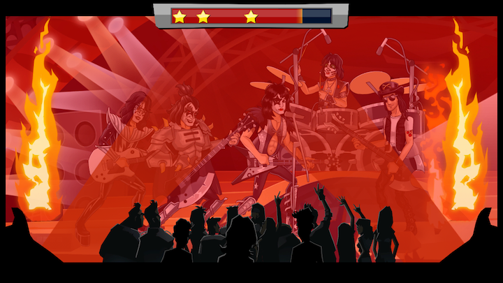 KISS Rock City(キッス・ロック・シティ) androidアプリスクリーンショット2