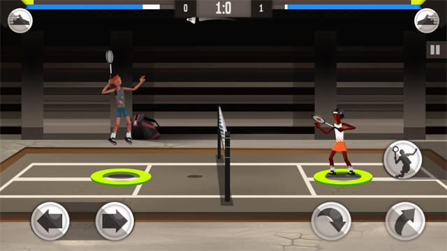 バドミントンリーグ androidアプリスクリーンショット1