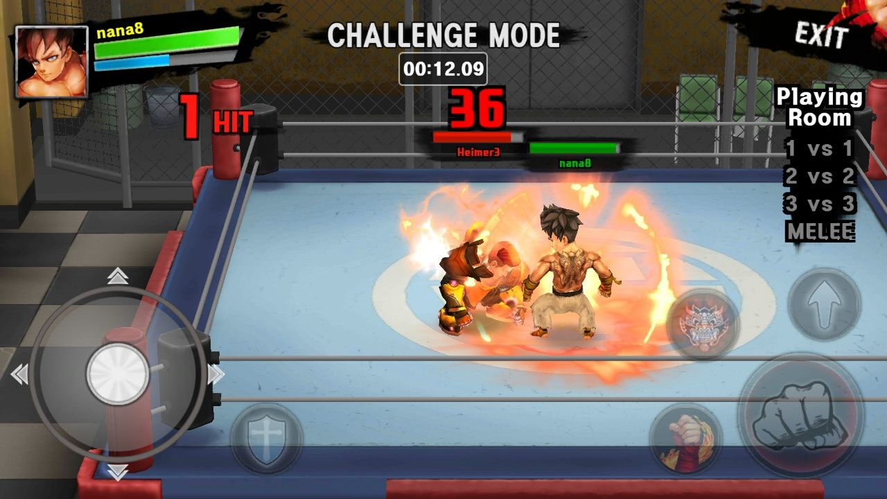 androidアプリ ファイトマニア(Fight Mania)攻略スクリーンショット4