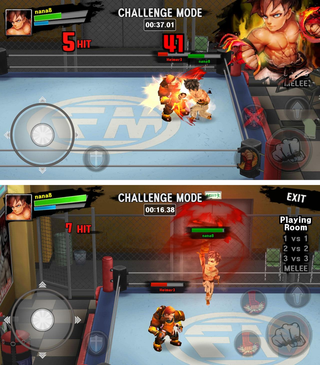 ファイトマニア(Fight Mania) androidアプリスクリーンショット1