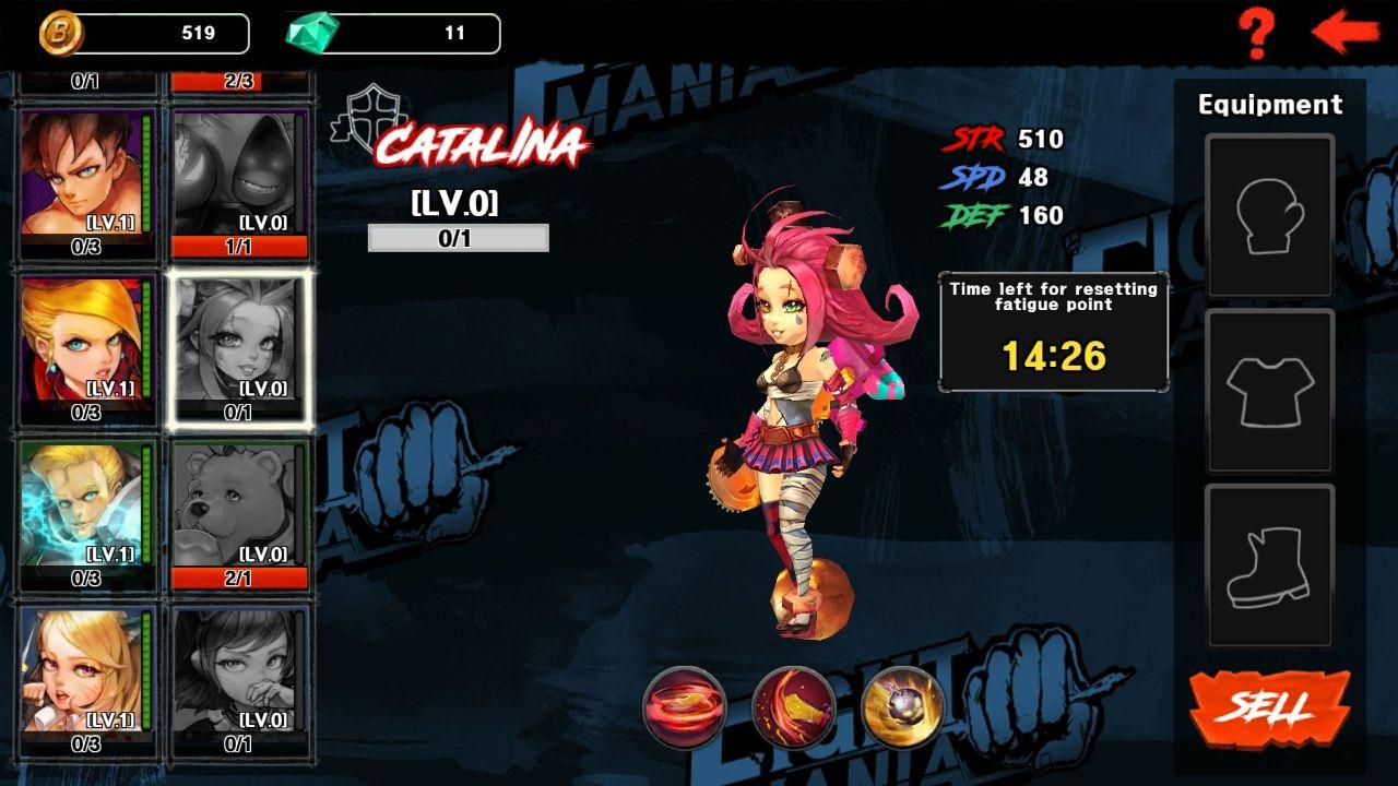 ファイトマニア(Fight Mania) androidアプリスクリーンショット3