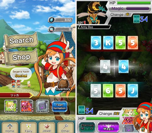Houseki Hunter androidアプリスクリーンショット1