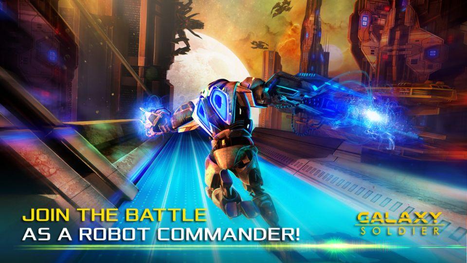 ギャラクシーソルジャー(Galaxy Soldier)イメージ