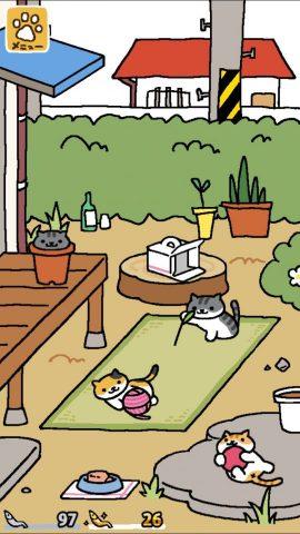猫の気まぐれっぷりにハマる!居るか居ないかわくわく感がたまらないおびき寄せゲーム