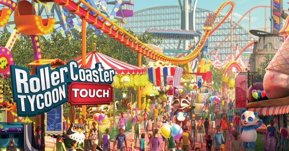 RollerCoaster Tycoon Touch 日本語版