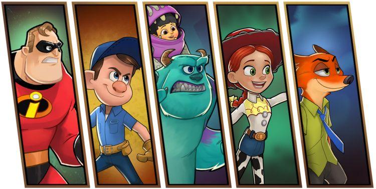 Disney Heroes:Battle Mode