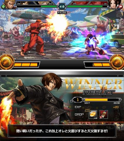THE KING OF FIGHTERS D