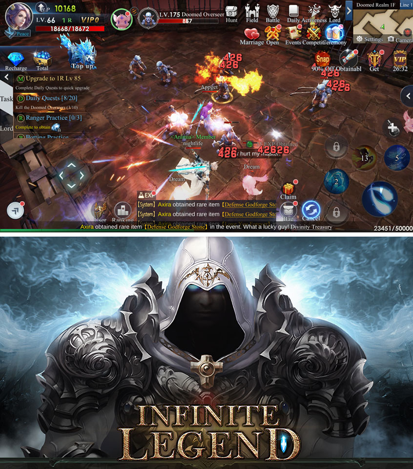 Infinite Legend レビュー
