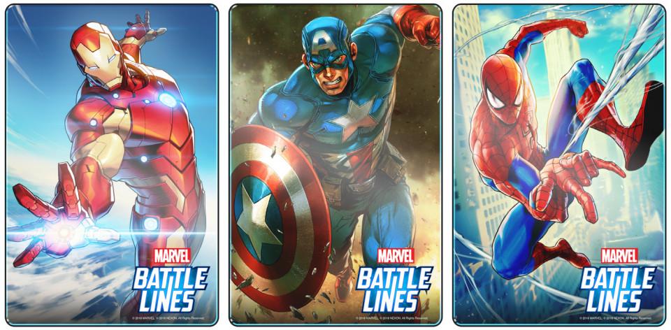 マーベルバトルラインズ(MARVEL Battle Lines)