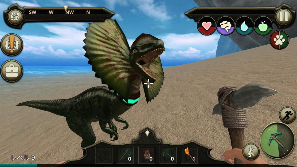 Jurassic Survival Island:Evolve レビュー
