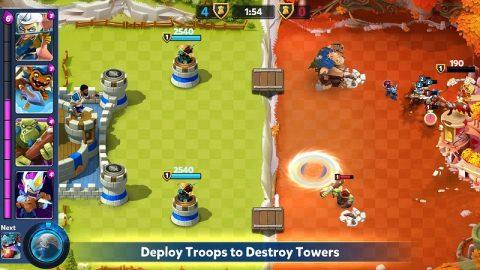 Castle Creeps Battle