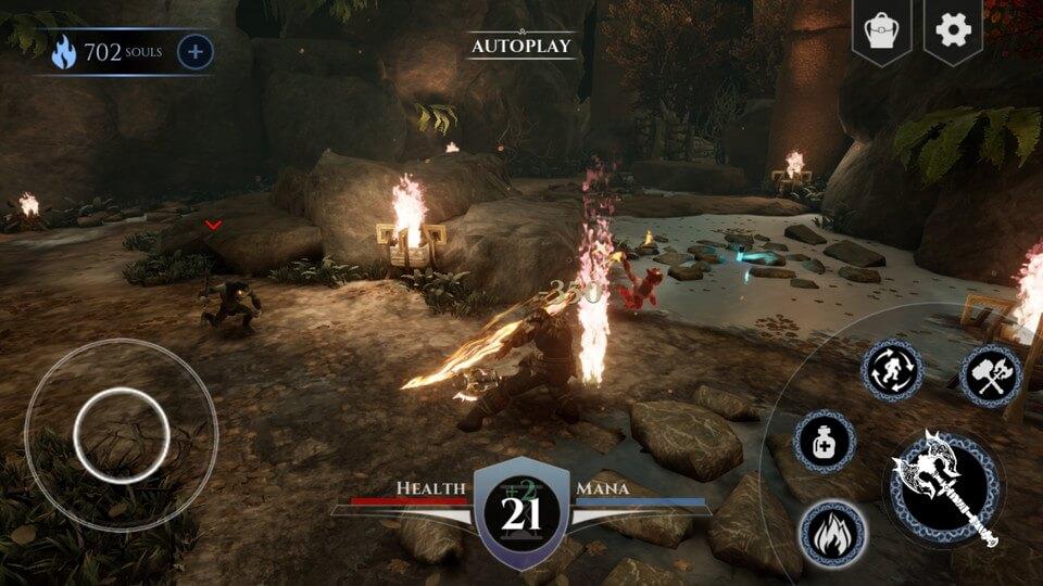 Action RPG Game Sample レビュー