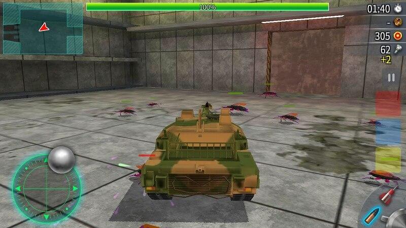 戦車でホイホイ
