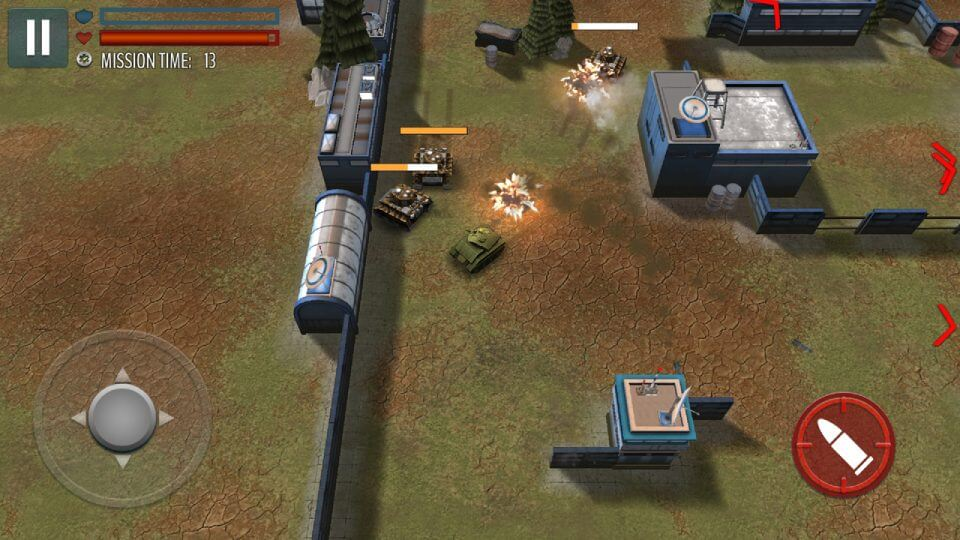 Tank Battle Heroes: World of Shooting レビュー画像