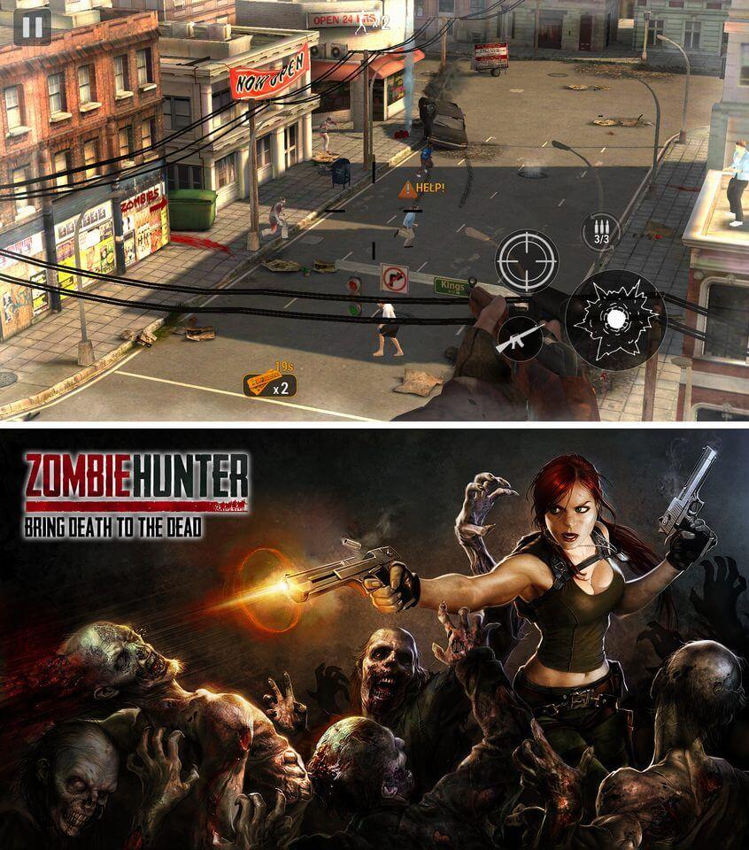 Zombie Hunter レビュー画像