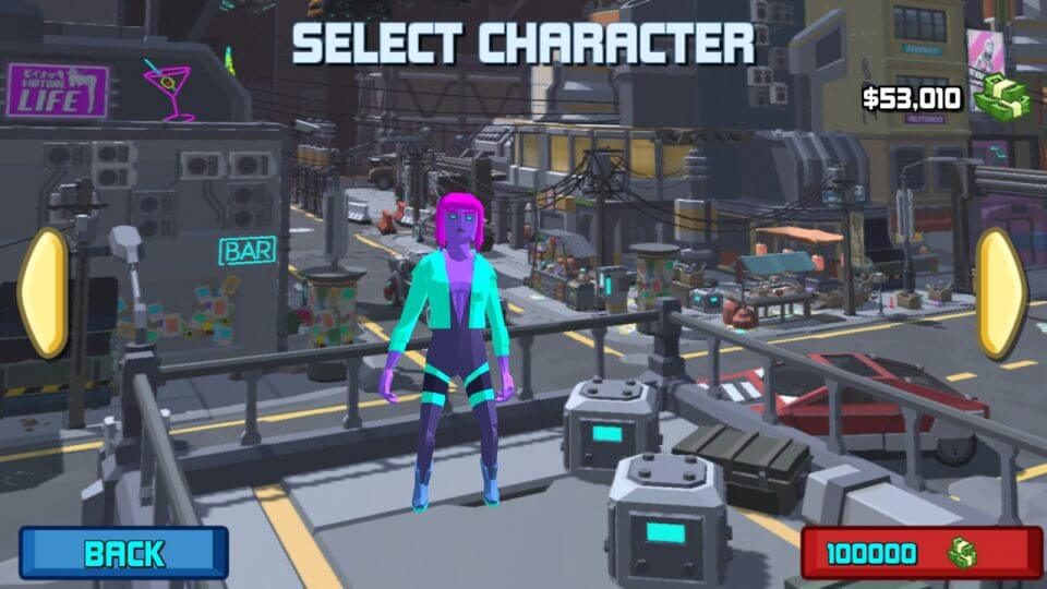 Polygon Grand Cyber Gang: neon punk world 2078 レビュー画像