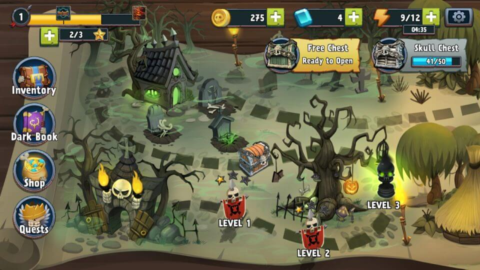 Skull Towers: Castle Defense Games レビュー画像