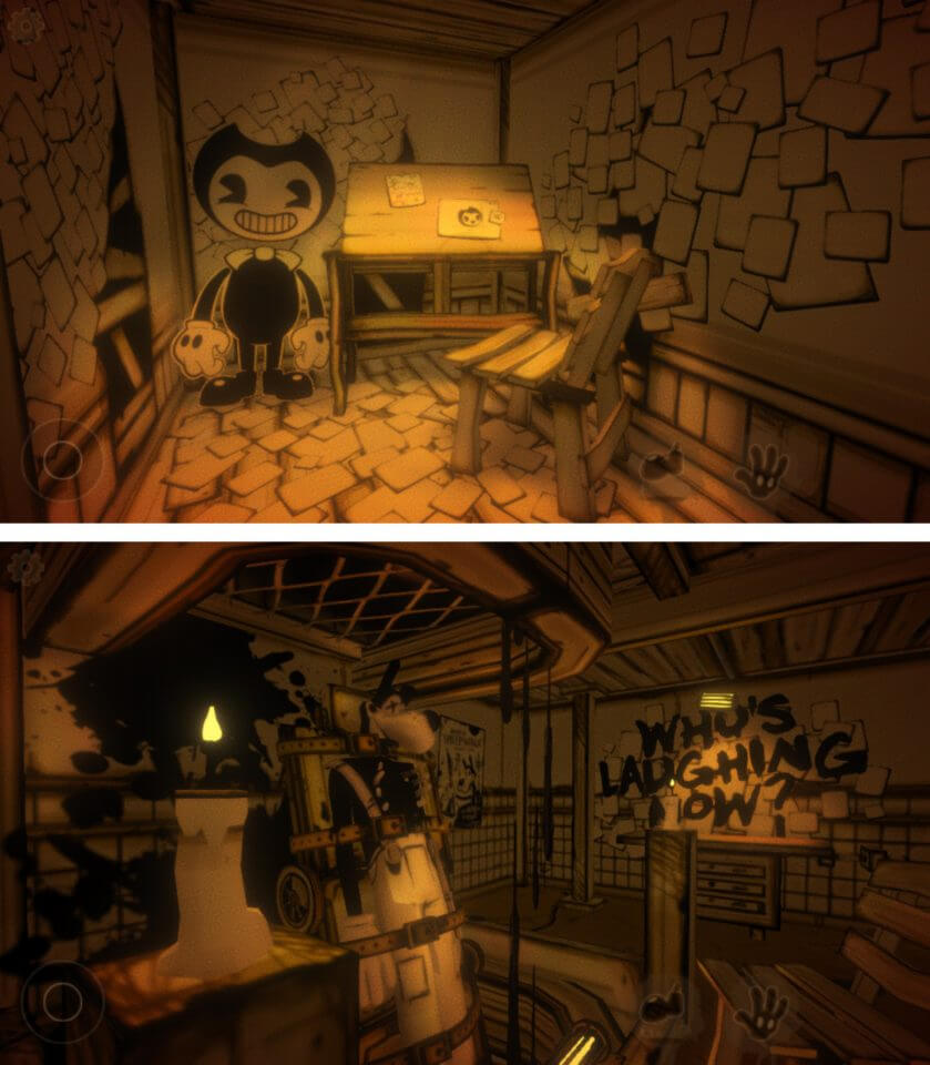 Bendy and the Ink Machineレビュー画面