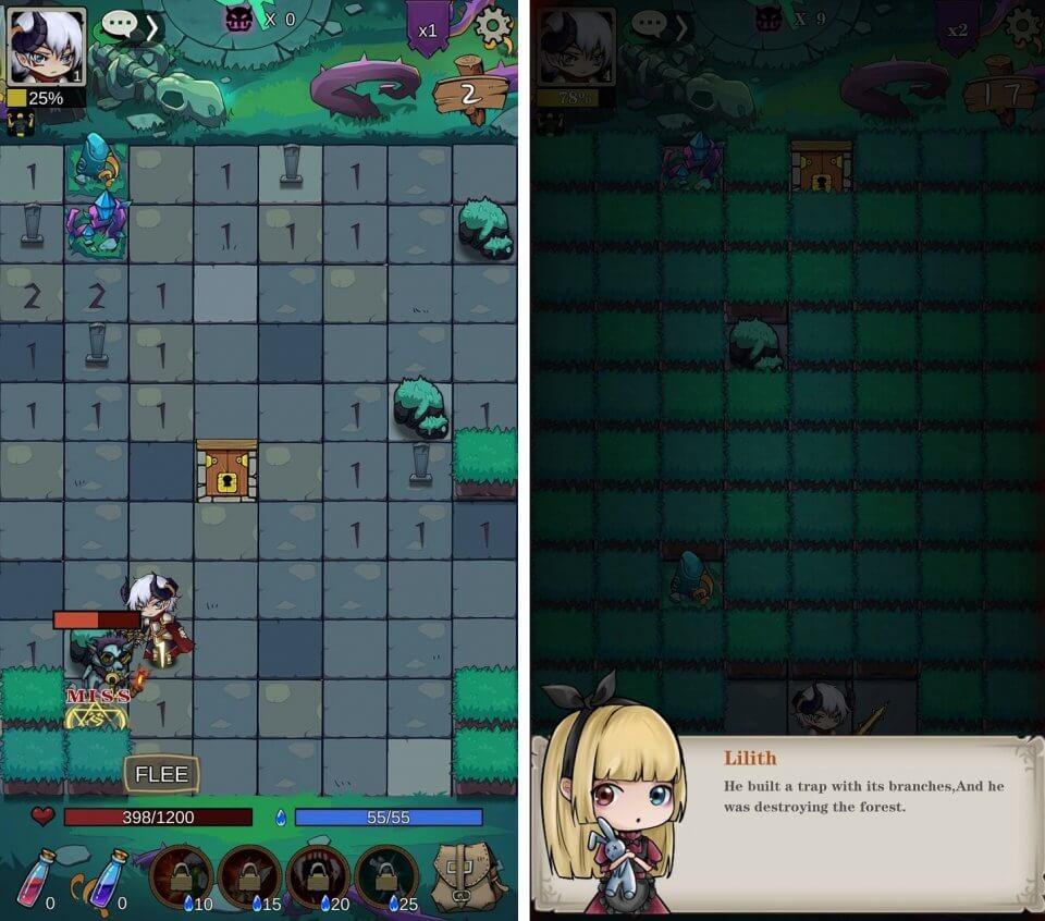 MineSweeper:Dungeon Warrior