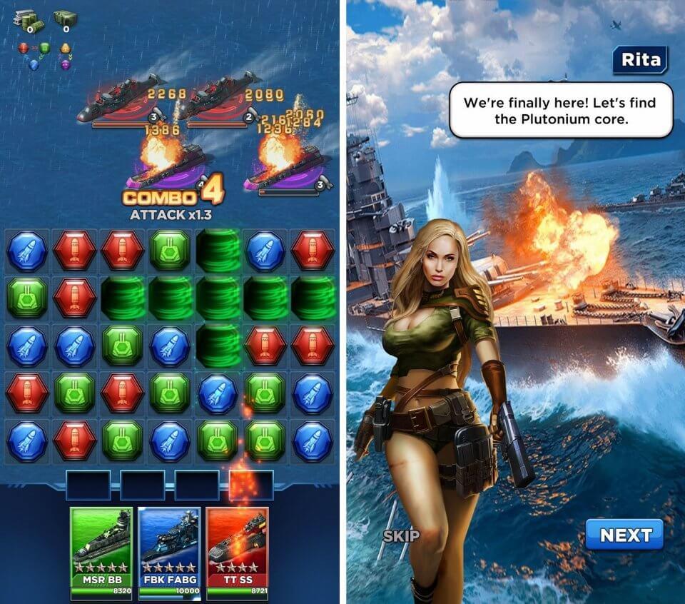 Battleship & Puzzles:Warship Empire