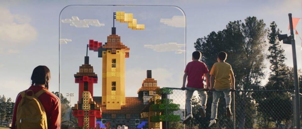 「Minecraft Earth」(マインクラフト アース)