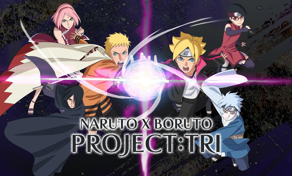 NARUTO X BORUTO PROJECT:TRI