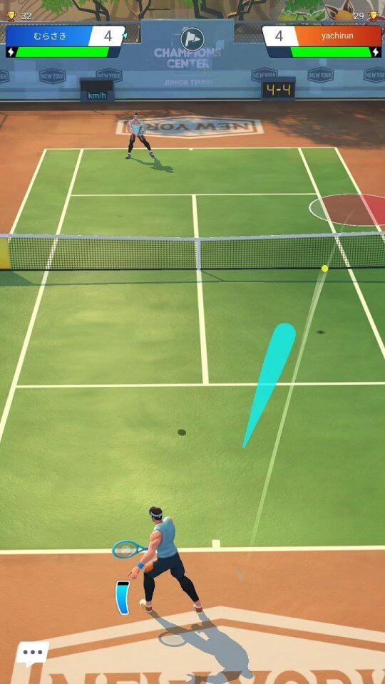 テニス クラッシュ 攻略